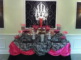 Pink And White Candy Buffet by Candy Buffet Ideas The Kentucky Candy Buffet Co Black Pink