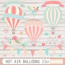 air balloons clip art