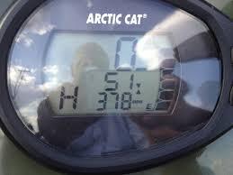 2007 arctic cat 700 efi dash flashing see pics any help