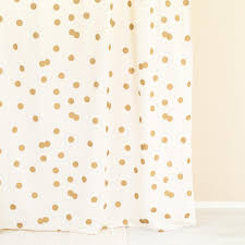 polka dot wrapping paper target shocking polka dot gold u white shower curtain from ankit