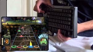 cara bermain gitar hero 3 di pc guitar hero iii pc keyboard noob part 3 youtube