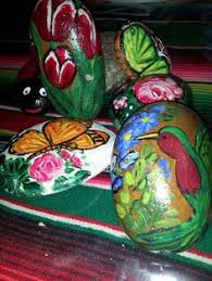 Painting Rocks For Garden Rock Chile N Gourd Rock Painting Pinterest Rock Painting