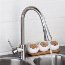 kitchen faucets single handle with sprayer fashion style two functions brushed nickel dual sprayer kitchen
