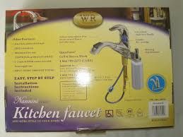 water ridge kitchen faucet manual waterridge wr nannini modern kitchen faucet
