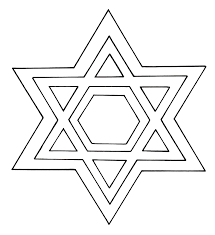 best similiar jewish star coloring page printable keywords free