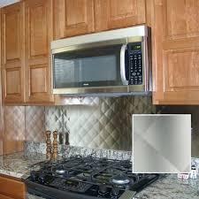 stainless tiles for backsplash kitchen stainless subway tile