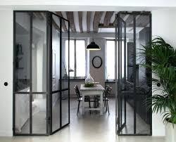 cloison vitree cuisine separation de cuisine en verre 1 cloison amovible dans la cuisine