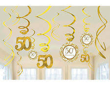 50th anniversary decorations ebay