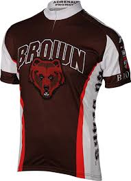 cycling jacket mens the brown university brown bear cycling jersey