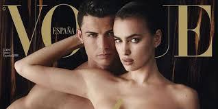 irina shayk nude pictures cristiano ronaldo poses naked with irina shayk for vogue spain