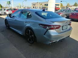 new 2018 toyota camry xse 4 door car in prince albert sk 37 333