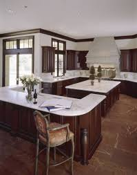 contemporary high end natural wood kitchen designs also white