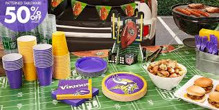 Nfl Decorations Nfl Minnesota Vikings Party Supplies Party City