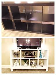 Country Style Tv Cabinet Furniture Home Diy Ikea Bookshelf To Stand Tv Stand With Bookcase