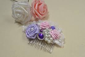 how to make flowers beaded hair accessories for