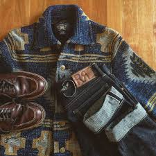 ralph lauren shirt alden indy boots rrl jeans menswear fashion