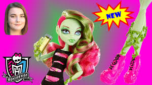 venus mcflytrap from the monster high coffin bean collection youtube