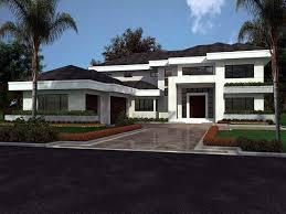 modern florida home plans home plan