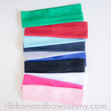 fabric headbands cotton headbands ribbon and bows oh my