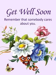 get well soon cards somebody cares about you get well card birthday greeting