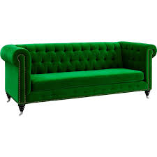 furniture best green velvet sofa for home furniture ideas with