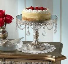 cake stand wedding antique cake stand silver small pedestal plate wedding platform