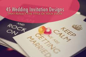 wedding invitation designs 45 wedding invitation designs that reflect the style of your event