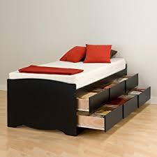 Bed Platform With Drawers Espresso Captain S Platform Storage Bed With