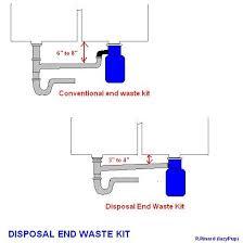 installing a garbage disposal in a single drain sink garbage disposal plumbing