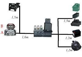 webasto thermo top c p e wiązka wire harness relay fuses loom 1530