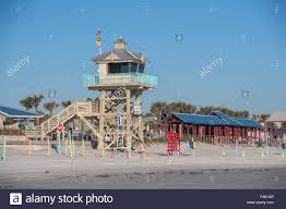 New Smyrna Beach Map Usa Florida New Smyrna Beach Lifeguard Tower And Pavilion Stock
