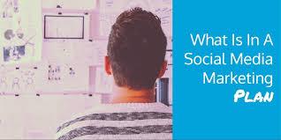 Plan Social Media What Is In A Social Media Marketing Plan