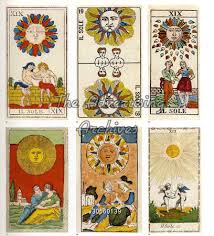 the advertising archives book plate tarot cards 1920s