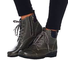 clarks womens boots qvc clarks leather ankle boots with flannel detail whistle bea