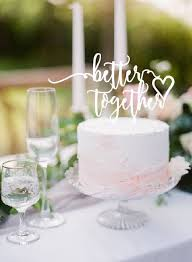 engagement cake toppers xoxo design better together swirl wedding engagement cake topper