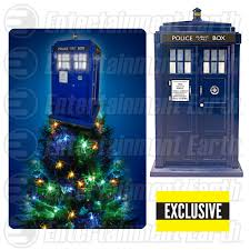 celebrate the holidays in whovian style with exclusive tardis tree