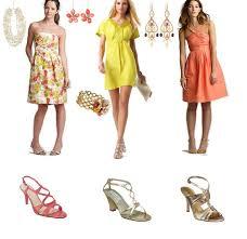 casual or elegant attire for a summer wedding