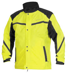 best road bike rain jacket firstgear sierra day glo rain jacket revzilla