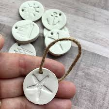 nautical clay gift tags gift tags clay nautical ornament
