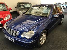 used mercedes benz c class elegance se for sale motors co uk