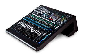 Studio Mixer Desk by Qu 16 Rackmountable Digital Mixer For Live Studio And Installation