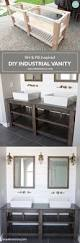 Bathroom Cabinet Ideas by Best 25 Diy Bathroom Vanity Ideas On Pinterest Half Bathroom