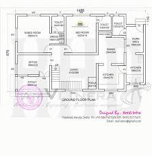 kerala floor plans stunning floor plan and elevation of modern house kerala home