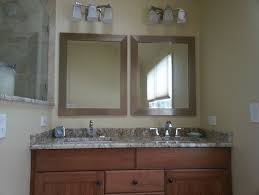Double Vanity What To Do With Mirrors And Lighting - Bathroom lighting and mirrors