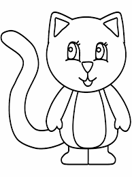 kitten coloring pages to print nice cat color pages top coloring ideas 9486 unknown