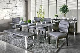 Keller Dining Room Furniture Rustic Grey Dining Table Set