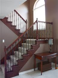 Staining Banister The Yellow Cape Cod Staircase Makeover Before And After