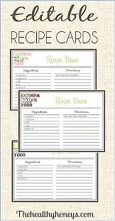 fillable recipe card template picture u2013 studiootb