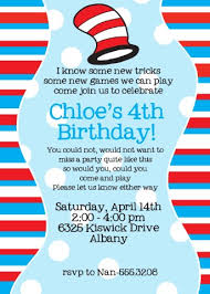 dr seuss birthday invitations princess and the peas
