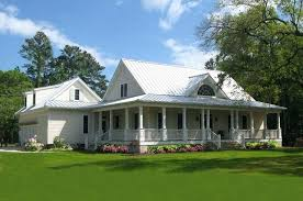 one story country house plans with wrap around one story farmhouse one story country house plans with wraparound